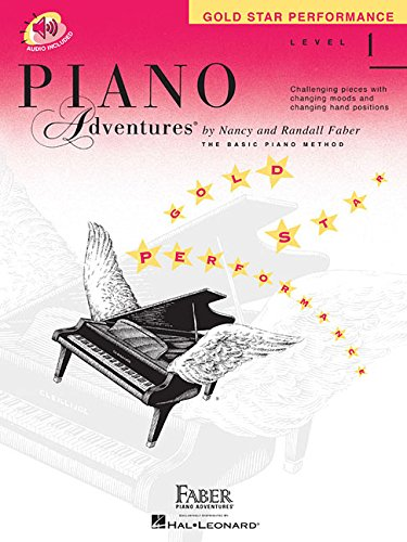 Piano Adventures - Level 1: Gold Star Performance with CD