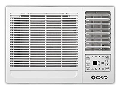 Koryo Pearl KWR18AF4S Window AC (1.5 Ton, 4 Star Rating, White )