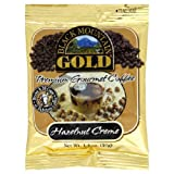 Black Mountian Gold Coffee Hazelnut Creme 14 Ounce Ground Convenience Packs  Pack of 30