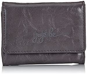 Ju-Ju-Be Thrifty Earth Leather Wallet (Steel/ Lilac)