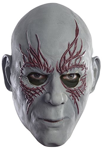 Rubie's Costume Men's Guardians Of The Galaxy Drax 3/4 Adult Mask
