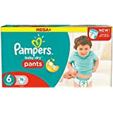 Pampers Mega Plus Baby-Dry Pants - Size 6, Pack of 76