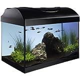 Diversa Aquarium 40er Set 40x25x25 cm rechteck schwarz