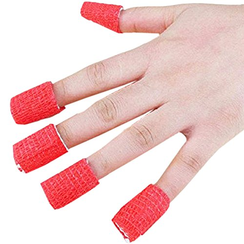 NAIL ART TAPE 25mm CARE BANDAGE TREATMENT TOOL Nail Gel Tips Skin Protector (Pitting Spoon compare prices)