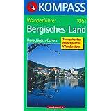 """Kompass Wanderf�hrer Bergisches Landvon """"Hans J Gorges"""""""