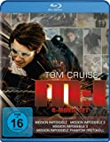 Mission: Impossible - M:I 4-Movie Set (Mission: Impossible / Mission: Impossible 2 / Mission: Impossible 3 / Mission: Impossible - Phantom Protokoll) [Blu-ray]