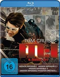 Mission: Impossible - M:I 4-Movie Set (Mission: Impossible / Mission: Impossible 2 / Mission: Impossible 3 / Mission: Impossible - Phantom Protokoll) [Blu-ray]