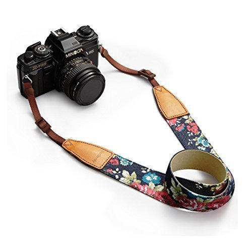 BESTTRENDY-Neck-Strap-for-DSLR-Camera-Blue