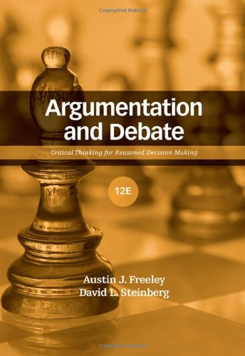 Argumentation and Debate