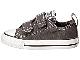 Converse Boy\'s Chuck Taylor All Star 2V (Infant/Toddler) - Charcoal - 8 Toddler