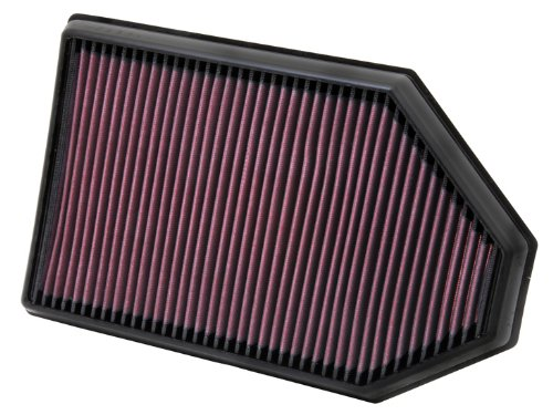 K&N 33-2460 High Performance Replacement Air Filter front-585315