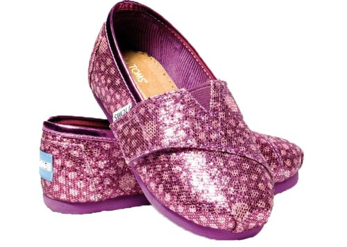 Toms Youth Pink Moroccan Classics Slip-nn