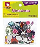 Creative Hands by Fibre-Craft - Assorted Rhinestones - Arts and Crafts - No Scissors Required - 1.06 Ounces - For Ages 3 and Up
