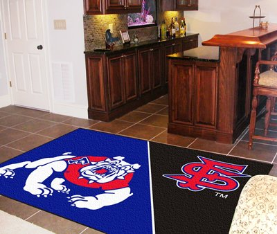 Fresno State 4' x 6' Area Rugs
