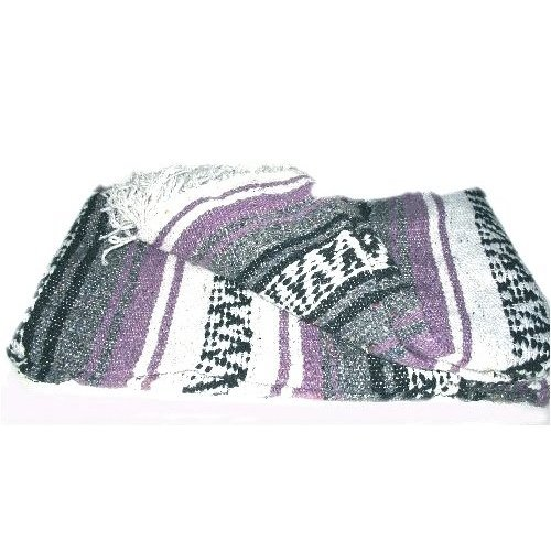 Mexican Cotton Blanket front-1080375