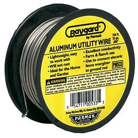Baygard Electric Fence 14 Gauge Aluminum Wire - 164 Feet #00533