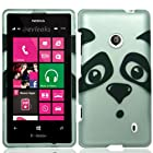 For T-Mobile Nokia Lumia 521 Windows Phone 8 Hard Snap-on Case Panda