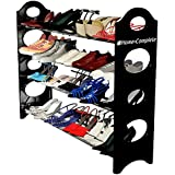 Best Shoe Rack Organizer Storage Bench - Store up to 20 Pair in Your Closet Cabinet or Entryway -Easy to Assemble-No Tools Required- A Christmas Gift Idea Like Nike Box -Lifetime Manufacture Warranty