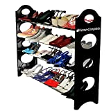 Last Day Sale- Shoe Rack Organizer Storage Bench -100% Lifetime Money Back Guarantee -Store up to 20 pairs of shoes and say GOODBYE to messy piles of shoes cluttering your closet and entryway - Adjustable shoe racks shelves width and height - Made From Stainless Steel and High-Quality Plastic Polymer so its BUILT TO LAST - Easy to Assemble - No Tools Required - Your Purchase is Secured by a LIFETIME GUARANTEE!
