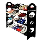 Last Day Sale- Best Shoe Rack Organizer Storage Bench -100% Lifetime Money Back Guarantee -Store up to 20 pairs of shoes and say GOODBYE to messy piles of shoes cluttering your closet and entryway - Adjustable shoe racks shelves width and height - Made From Stainless Steel and High-Quality Plastic Polymer so it's BUILT TO LAST - Easy to Assemble - No Tools Required - Your Purchase is Secured by a LIFETIME GUARANTEE!