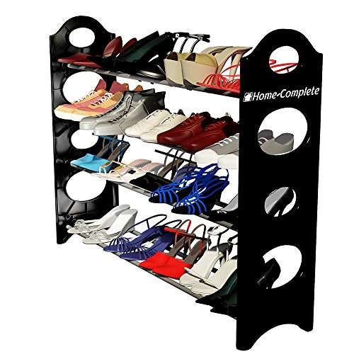 Best Shoe Rack Organizer Storage Bench - Store up to 20 Pairs in Your Closet Cabinet or Entryway -Easy to Assemble-No Tools Required