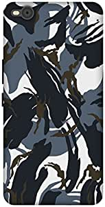 The Racoon Lean printed designer hard back mobile phone case cover for HTC One X9 (Camouflage)