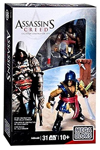 Mega Bloks Assassin's Creed Adewale Figure Set