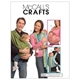 McCalls Patterns M5678 one Size Only Baby Carriers Pack of 1 White