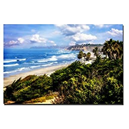 Del Mar I by Alan Hausenflock Premium Gallery-Wrapped Canvas Giclee Art (Ready-to-Hang)