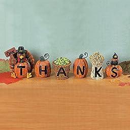 Give Thanks Blocks - Decorative Accessories
