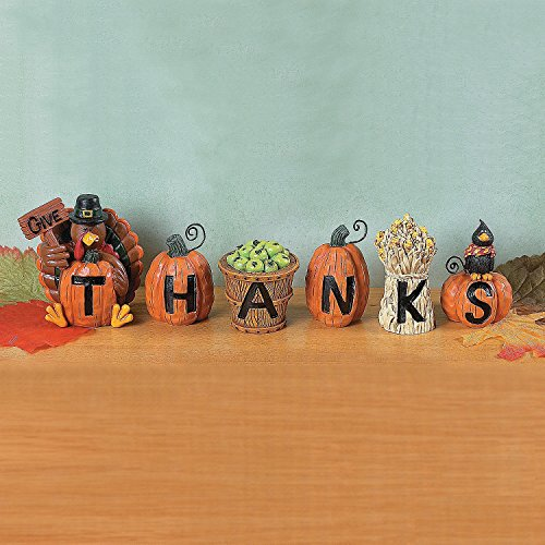 Give Thanks Blocks - Decorative