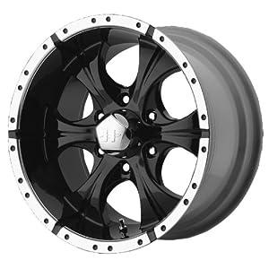 17×9 Helo Maxx (Gloss Black / Machined) Wheels/Rims 5×114.3 (HE7917912312AA)