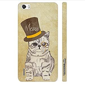 Huawei Honor 6 Cat out of the hat designer mobile hard shell case by Enthopia