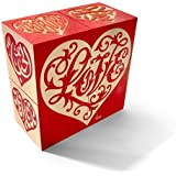 House Industries Love Heart: Red Blocks - Made in USA