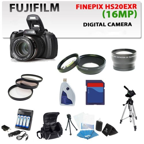 Fujifilm Finepix Hs20exr Digital Camera with Accessory