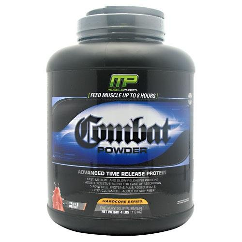 Muscle Pharm Combat 1800 g Triple Berry Muscle Growth and Recovery Drink Powder