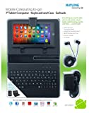 "7"" Android Tablet with keyboard case value package MVP-270 Google Play Store Enabled"