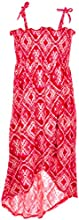 Derek Heart Big Girls39 quotTie-Dye Tapestryquot Hi-Low Dress