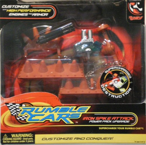 Rumble Cars Iron Spike Atack Power Pack Upgrade