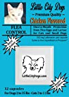 Little City Dogs 'Chicken Flavored' once-a-month FLEA CONTROL Capsules for Cats and Small Dogs -…
