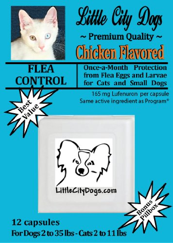 Little City Dogs once-a-month FLEA CONTROL Capsules