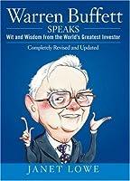 """Cover of """"Warren Buffett Speaks: Wit and ..."""