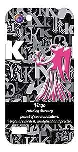 Top Color Zodiac Printed Back Cover for Oppo Neo 7 (Multicolor)