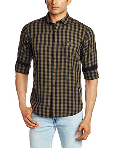 Pepe-Jeans-Mens-Casual-Shirt-8903872598076CLINT-LSSmallOlive