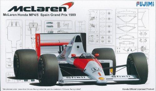 マクラーレンMP4/5スペインGP (1/20 GPシリーズ No.19)