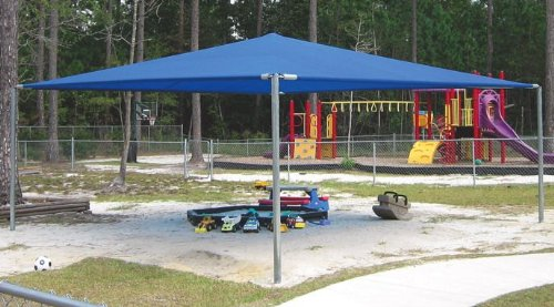 Sports Play 901-093 Stand Alone Shade Structure- 20' x 24'