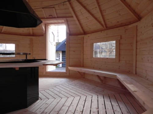 sgk165 kombi sauna grillkota deluxe mit 165m grundflche. Black Bedroom Furniture Sets. Home Design Ideas