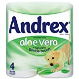 Andrex Toilet Rolls 2-Ply 240 Sheets Aloe Vera White Ref M02073 - Pack