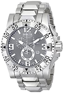 Invicta Men's 15312 Excursion Analog Display Swiss Quartz Silver Watch
