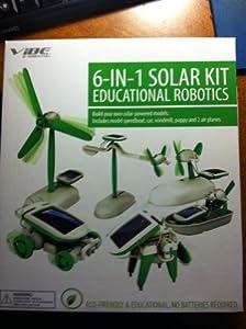 Vibe Essential 6-in-1 Solar Kit - Educational Robotics